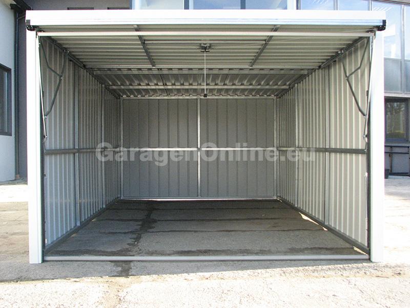 fertiggarage blechgarage garage metallgarage ger tehaus ebay. Black Bedroom Furniture Sets. Home Design Ideas